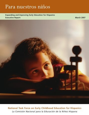 Expanding and Improving Early Education for Hispanics Executive