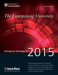 Enterprise Strategy - University of Leicester
