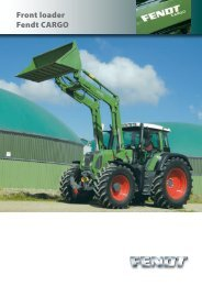 Front loader Fendt CARGO - Kakkis Agrifuture Products LTD