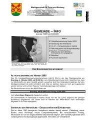 Gemeinde-INFO Nr. 07/2005 - .PDF - Marktgemeinde St. Peter am ...