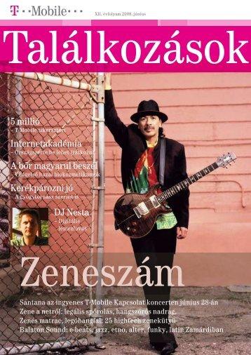 Találkozások magazin 2008. június - T-Mobile