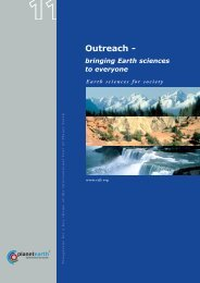 Outreach - - International Year of Planet Earth
