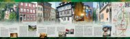 Flyer Hotelübersicht - Meininger Hotels mit Flair