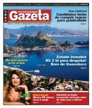Ano 1 • Nº 23 • Semana de 7 a 13 de janeiro de 2012 - Gazeta ...