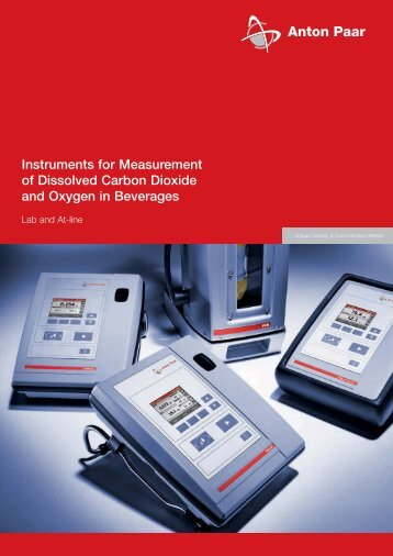 Instruments for Measurement of Dissolved ... - MEP Instruments