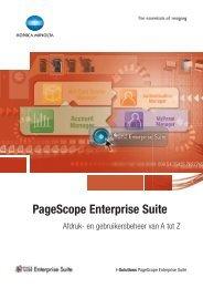 Ontdek de oplossing 'PageScope Enterprise Suite'