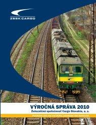 VÝROČNÁ SPRÁVA 2010 - ZSSK Cargo