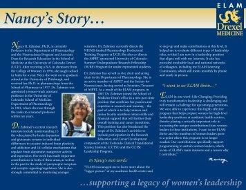 Nancy Zahniser - Drexel University College of Medicine