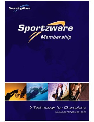 Sportzware Online Membership User Guide - PulseTec Solutions ...