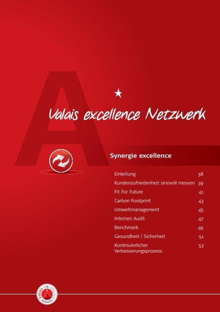 Internes Audit - Valais excellence