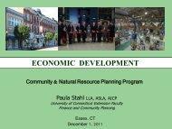 ECONOMIC DEVELOPMENT - The Green Valley Institute