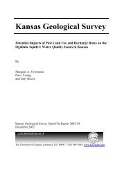 Potential Impacts of Past Land Use and Recharge Rates on the ...
