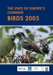 Brochure SECB 2005 - European Bird Census Council
