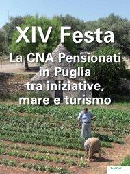XIV Festa La CNA Pensionati in Puglia tra iniziative, mare e turismo