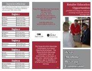 Retailer Education Opportunities - Texas Alcoholic Beverage ...