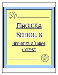 Research Project and Exercises - Magicka School