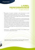 PERFORMANCE LABEL PROMOtELEC - Page 3