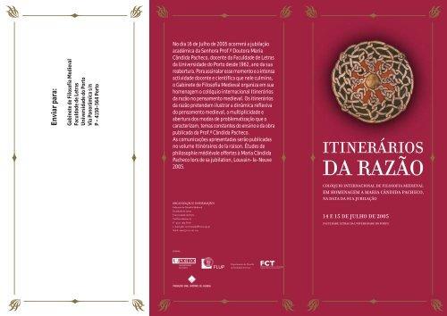 folheto em PDF - Instituto de Filosofia - Universidade do Porto