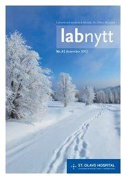 Nr. 4 | desember 2012 - St. Olavs Hospital