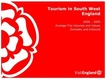 Tourism in South West England - VisitEngland