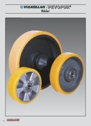 VULKOLLAN®/PEVOPUR® wheels and castors from ... - Räder-Vogel