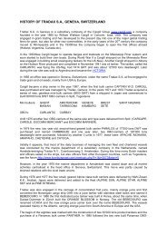 history of cargill / tradax, geneva, switzerland - Swiss-Ships