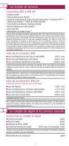 Les conditions tarifaires Les conditions tarifaires - BPE - Page 2