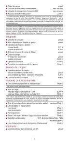 Les conditions tarifaires Les conditions tarifaires - BPE - Page 3