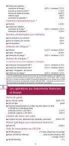 Les conditions tarifaires Les conditions tarifaires - BPE - Page 6