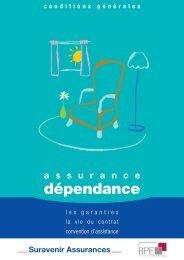 assurance dépendance - BPE