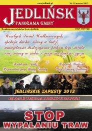 www.jedlinsk.pl Nr 31/marzec/2012 - Jedlińsk, Urząd Gminy