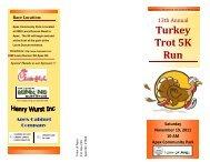 Turkey Trot 5K Run - Town of Apex