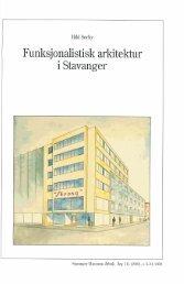 Funksjonalistisk arkitektur i Stavanger - Museum Stavanger