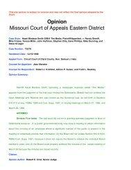 Smith v. Sheriff - Missouri Attorney General