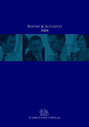REPORT & ACCOUNTS 2004 - St James's Place