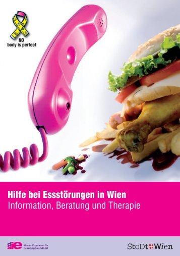 Hilfe bei Essstörungen in Wien - Frauengesundheit-Wien