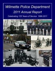 2011 Annual Report - Village of Wilmette