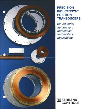 - PRECISION lNDUCTOSYN® POSITION TRANSDUCERS