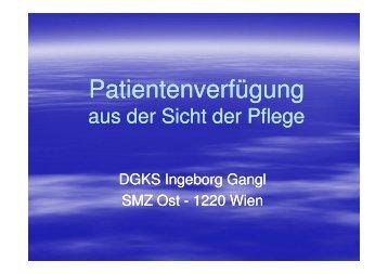Patientenverfuegung_Gosau2008 [Kompatibilitätsmodus] - OEANPT