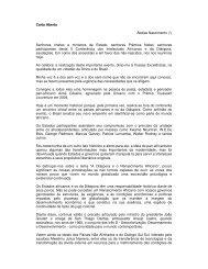 Carta Aberta Abdias Nascimento (*) Senhores chefes e ministros de ...