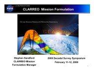 CLARREO Overvew [PDF] - NASA Earth Science Decadal Survey ...