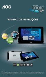 MANUAL DE INSTRUÇÕES - Submarino.com.br