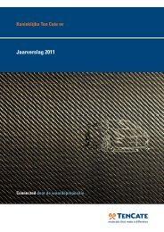 Jaarverslag 2011 - TenCate