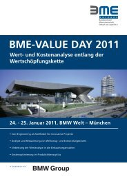 BME Value Day.indd - costdata