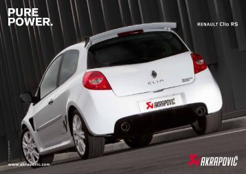 RENAULT Clio RS - SKN Tuning