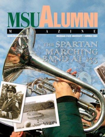 MSU Alumni Magazine, Summer 2005 issue