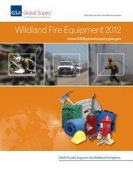 Wildland Fire Equipment 2012 - GSA