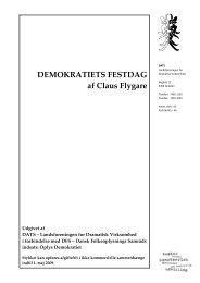 DEMOKRATIETS FESTDAG af Claus Flygare - DATS
