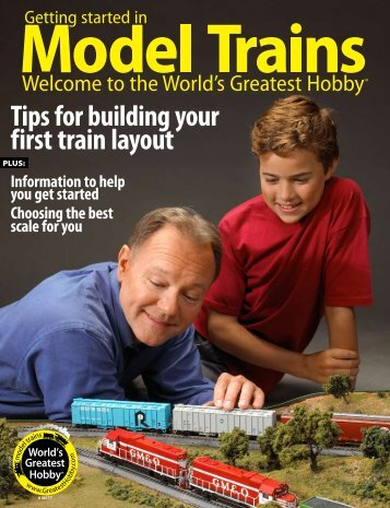 Tips for building your first train layout - World's Greatest Hobby
