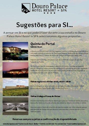 visite o douro - DOURO PALACE | Hotel Resort & Spa
